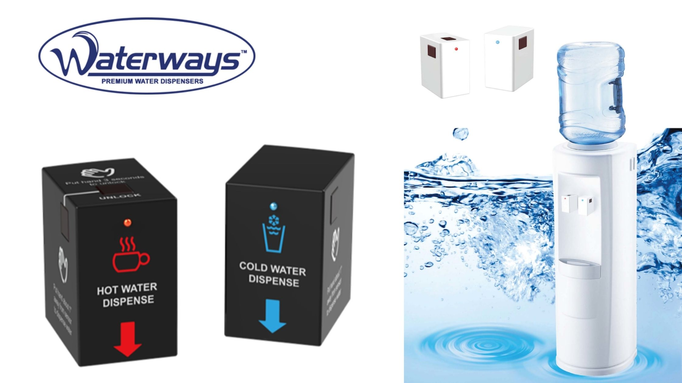 touchless water dispenser